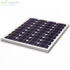 40W/12V monokristályos napelem panel