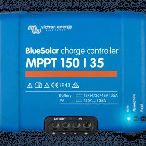 Victron Energy BlueSolar MPTT 150/35 12/24/36/48V töltésszabályzó