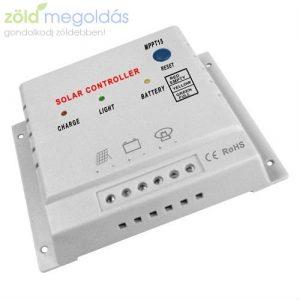 10A-es 12/24V  MPPT napelem töltésvezérlő