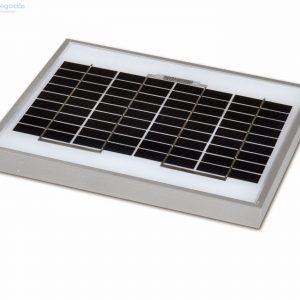 5W/12V monokristályos napelem panel
