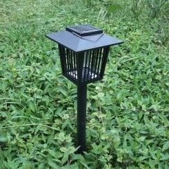 2 az 1-ben napelemes szúnyog- és rovarirtó kerti lámpa