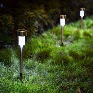 5db leszúrható napelemes kerti lámpa-30 cm