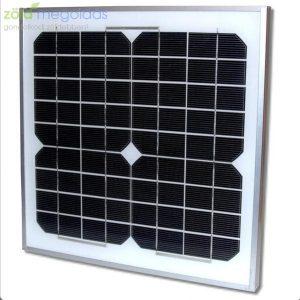 10W/12V polikristályos napelem panel