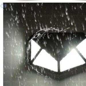 100LED mozgásérzékelős napelemes lámpa-EXTRA FÉNYERŐ
