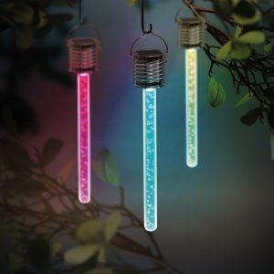Színváltós LED buborék fény